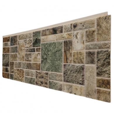 Декоративен панел с визия на камък естествени цветове