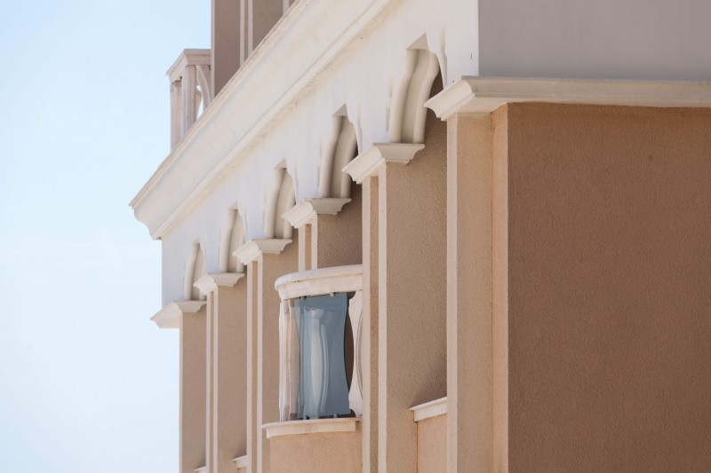 Original architectural and interior decoration of expanded polystyrene EPS