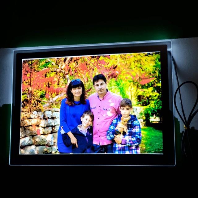 Crystal LED A5 светеща рамка