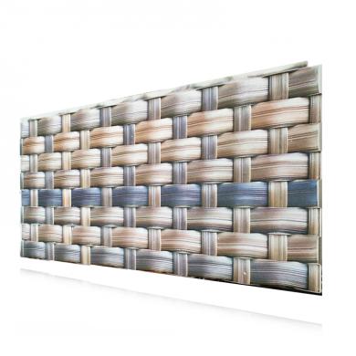 Декоративен релефен панел модел Плетена стена